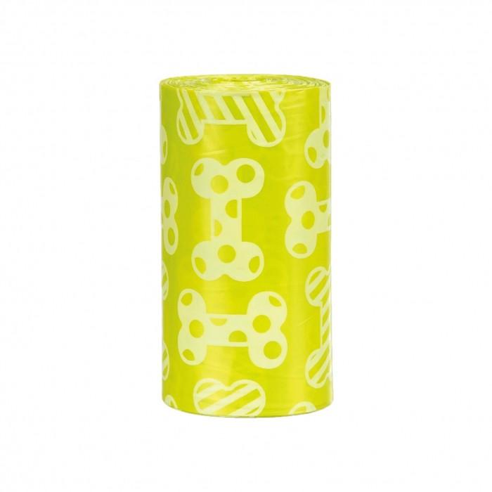 Sacs ramasse-crottes parfum citron