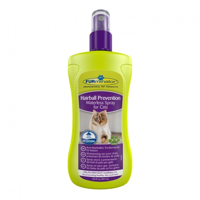 Shampooing sec Hairball Prevention