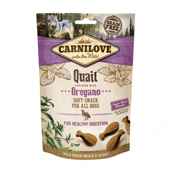 Soft Snack - Caille et origan