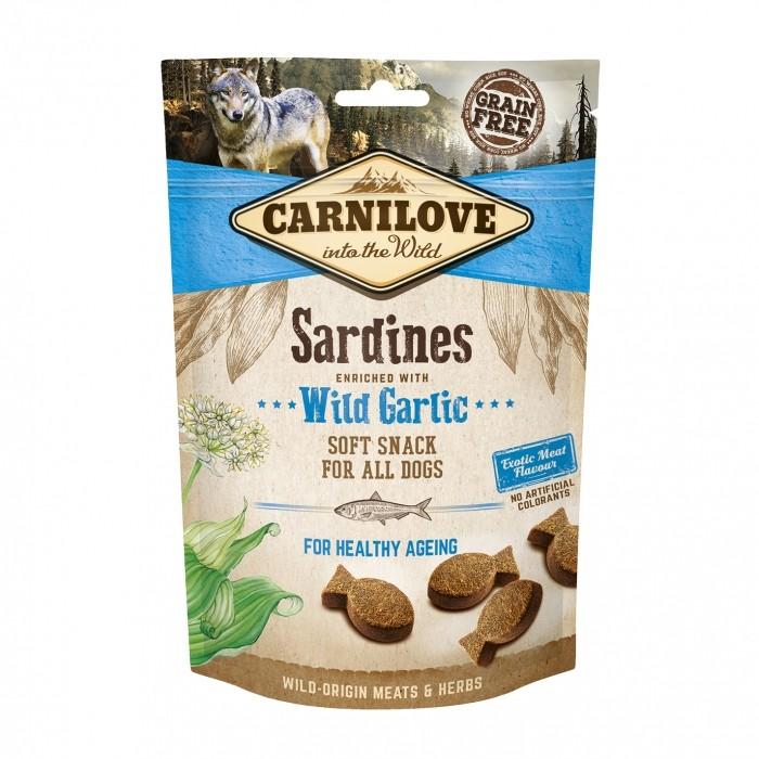 Soft Snack - Sardines et ail