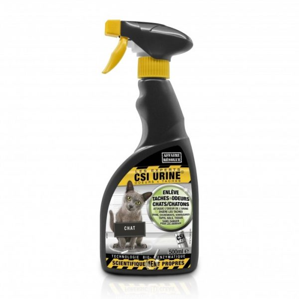 Spray nettoyant chat et chaton