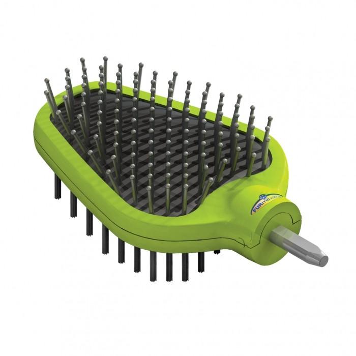 Tête brosse double face pour étrille FURflex™