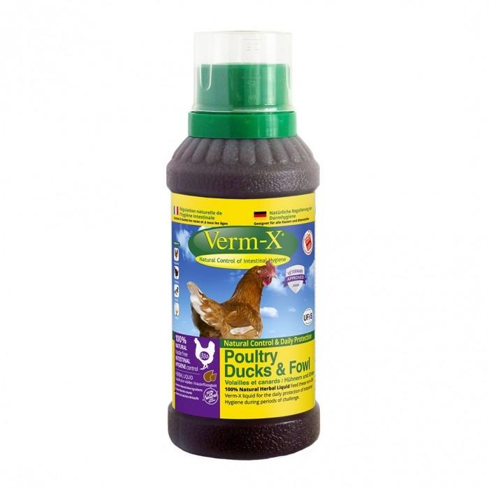 Verm-X Poules - Hygiène intestinale (solution liquide)