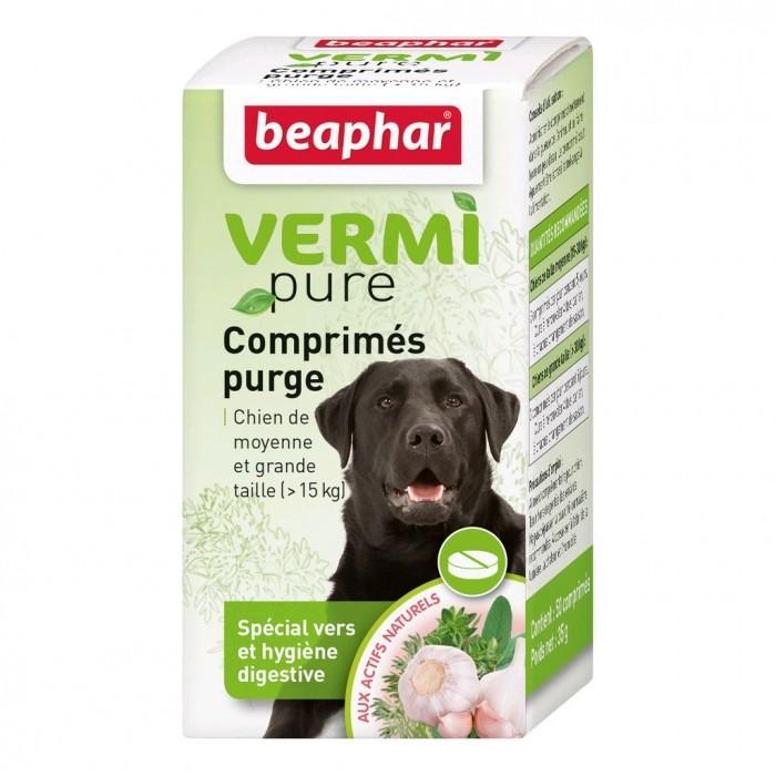Vermipure Comprimés Purge pour chien de moyenne et grande race