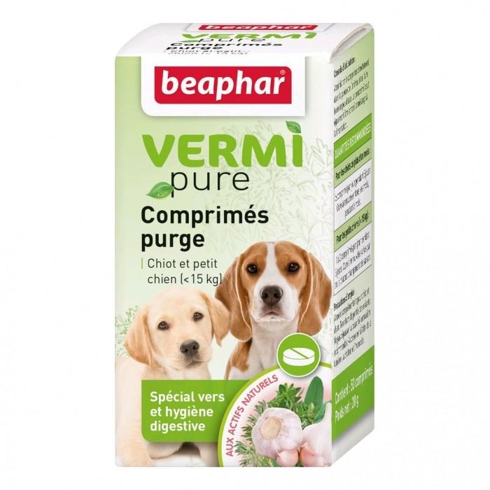 Vermipure Comprimés Purge pour chiots et chiens de petite race
