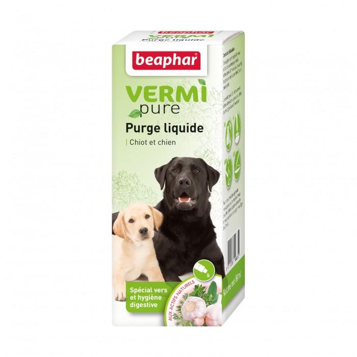 Vermipure purge liquide pour chien